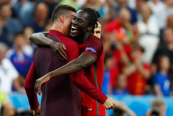 Cristiano Ronaldo y el jugador que le dio la victoria a Portugal, Eder