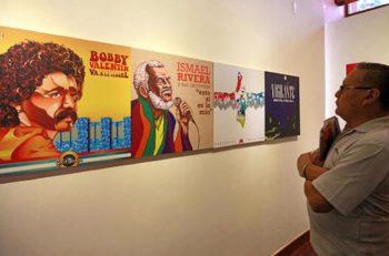 Museo en la estancia de salsa