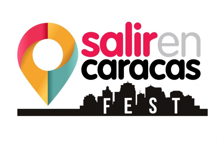 Logotipo Salir en Caracas Fest w